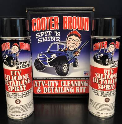 Extreme Metal Products, LLC - Cooter Brown UTV Silicone Detailing Spray - Image 1
