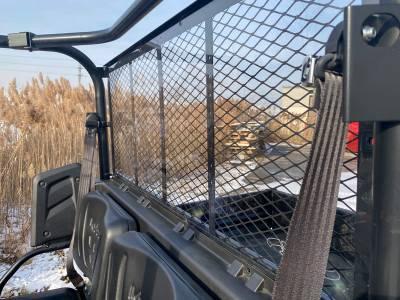 Extreme Metal Products, LLC - Kubota RTV Cab Back/Dust Stopper (Hard Coated on Both Sides) - Image 1