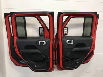 Extreme Metal Products, LLC - Jeep JL, JK and TJ Door Hangers - Image 1