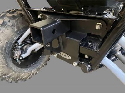 "Extreme Metal Products, LLC - Kawasaki KRX Rear 2"" Receiver/Tow Hook - Image 1"