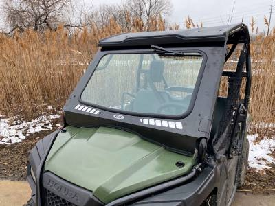 Extreme Metal Products, LLC - Honda Pioneer 500 Laminated Glass Windshield - Image 1