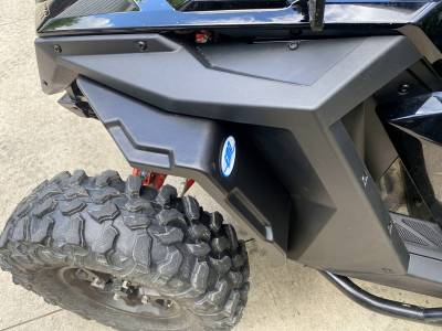 Extreme Metal Products, LLC - RZR PRO XP Fender Flare Set (front and rear) - Image 1