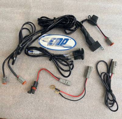 Extreme Metal Products, LLC - Universal LED Light Bar Wiring Harness (includes Polaris Pulse Bar Plug) - Image 1