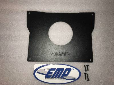 """Extreme Metal Products, LLC - 14024 KRX Stereo Face Plate with 3-1/4"""" Hole - Image 1"""