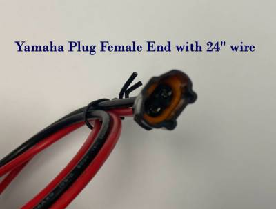 Extreme Metal Products, LLC - Yamaha RMAX, YXZ, and Wolverine Accessory Plug - Image 1
