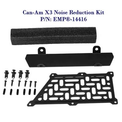 Extreme Metal Products, LLC - Can-Am X3 Noise Reduction Kit - Image 1