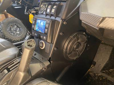 Extreme Metal Products, LLC - Can-Am X3 In-Dash Back Up Camera Monitor and Stereo Kit. - Image 1