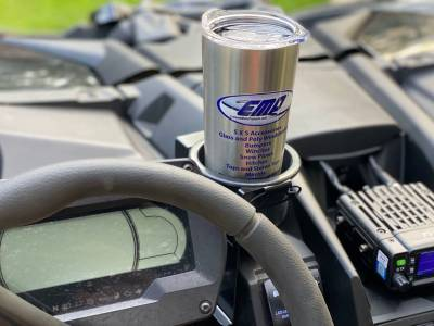 """Extreme Metal Products, LLC - Can-Am Maverick X3 """"Jumbo Cup"""" Holder - Image 1"""