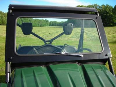 Extreme Metal Products, LLC - Teryx Laminated Safety Glass Windshield with Wiper - Image 1