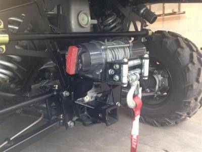 Extreme Metal Products, LLC - Ranger XP900 and Full Size Ranger 570 Rear Winch Mount