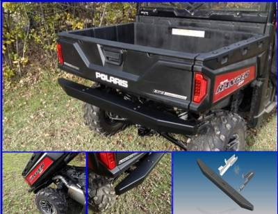 Extreme Metal Products, LLC - Ranger XP900, Full Size Ranger 570 and Ranger XP1000 Rear Bumper