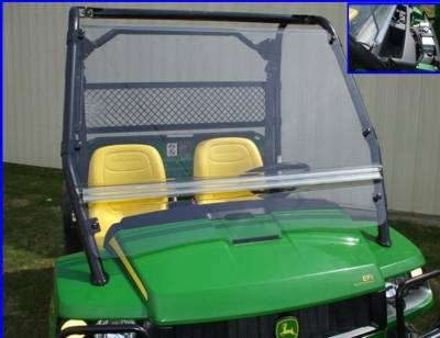Extreme Metal Products, LLC - Gator Full Windshield - Image 1