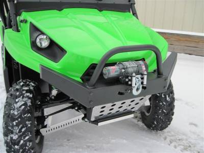 Extreme Metal Products, LLC - Teryx HD Front Bumper / Brush Guard with Winch Mount - Image 1