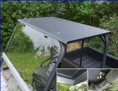 Extreme Metal Products, LLC - Mule 3000 / 3010 and 4000 / 4010 Hard Top with LED Dome Light - Image 1