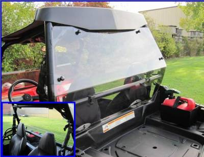 Extreme Metal Products, LLC - RZR Cab Back / Rear Dust Stopper