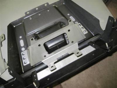 Extreme Metal Products, LLC - Mid-Size Ranger Winch Mounting Plate