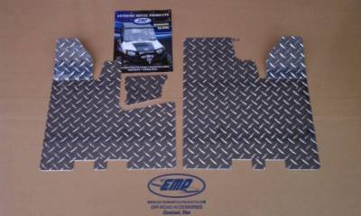 Extreme Metal Products, LLC - RZR Diamond Plate Floor boards