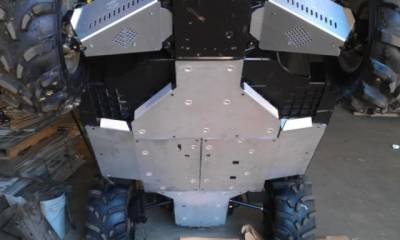 Extreme Metal Products, LLC - Commander Full Belly Skid Plate