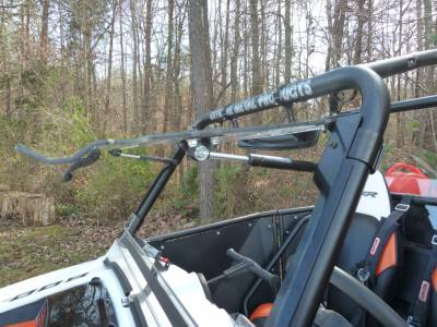Extreme Metal Products, LLC - RZR Flip Up Windshield