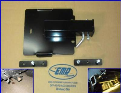 """Extreme Metal Products, LLC - Mid-Size Ranger Front 2"""" Plow Mount"""