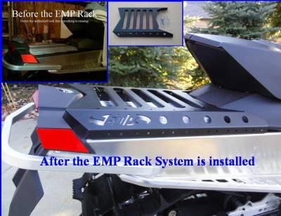"Extreme Metal Products, LLC - Ski-Doo Renegade Cargo Rack - 137"" Track - Image 1"
