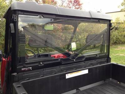 Extreme Metal Products, LLC - Ranger XP900, Full Size Ranger XP570 and Ranger XP1000 Cab Back / Dust Stopper (Hard Coated) (Fits: Pro-Fit Cage)