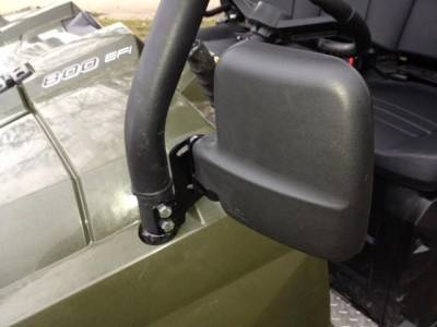 Extreme Metal Products, LLC - Ranger and RZR Folding Mirror Set - Image 1