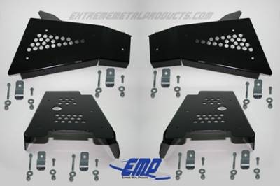Extreme Metal Products, LLC - RZR CV Boot / A-Arm Guards - Steel - Image 1