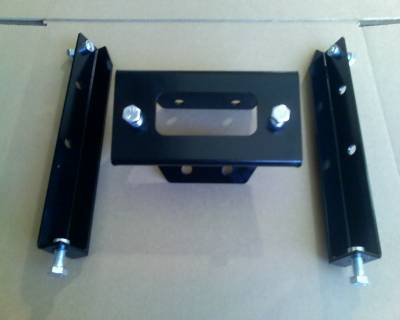 Extreme Metal Products, LLC - RZR Winch Mount - Image 1