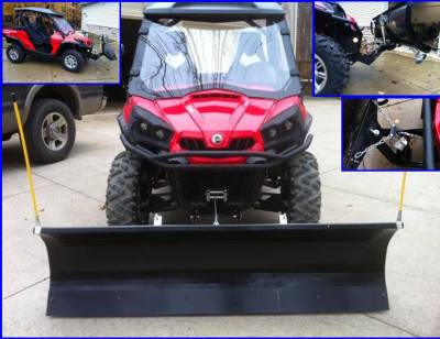 """Extreme Metal Products, LLC - Commander 72"""" Snow Plow - Image 1"""