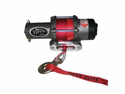 Extreme Metal Products, LLC - 4000 lb Viper Elite Winch with Synthetic Rope