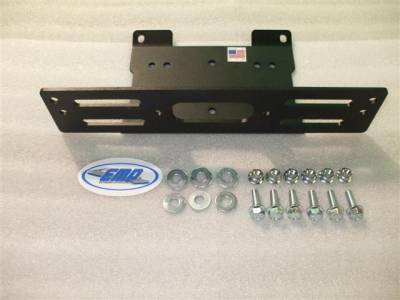 Extreme Metal Products, LLC - Ranger Winch Mounting Plate - Image 1