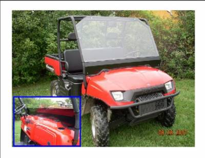 Extreme Metal Products, LLC - Ranger Full Windshield - Image 1