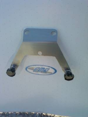 Extreme Metal Products, LLC - Honda CRF 250 & CRF 450 License Plate Bracket