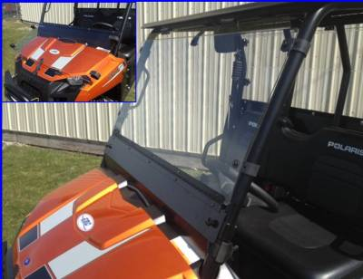 Extreme Metal Products, LLC - Mid-Size Ranger Fold Down Windshield