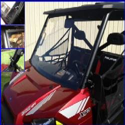 Extreme Metal Products, LLC - Ranger XP900, Full Size Ranger XP570 and Ranger XP1000 Hard Coat Windshield