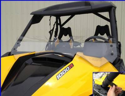 Extreme Metal Products, LLC - Maverick Half Windshield / Wind Deflector - Image 1