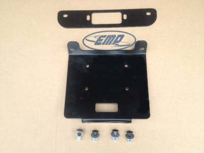 Extreme Metal Products, LLC - RZR XP1000,RZR 900, RZR 1000-S Winch Mounting Plate - Image 1