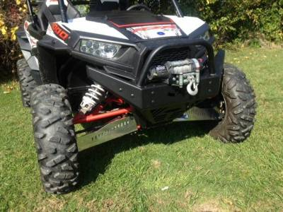 Extreme Metal Products, LLC - RZR  Extreme Front  Bumper / Brush Guard with Winch Mount (XP1K, 2016-18 RZR 1000-S and 2015-18 RZR 900)