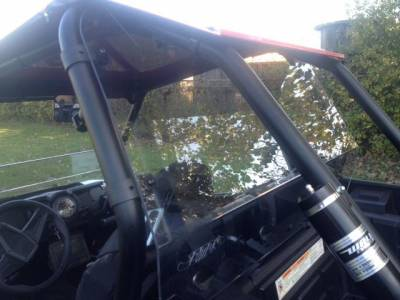 Extreme Metal Products, LLC - RZR XP1000  Cab Back / Dust Stopper (polycarbonate) - Image 1