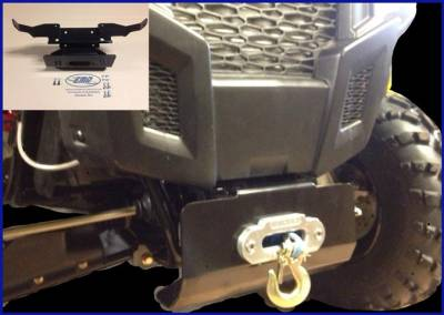 Extreme Metal Products, LLC - Polaris ACE Winch Mount