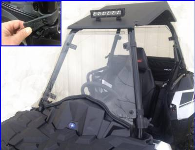 Extreme Metal Products, LLC - Sportsman Ace Full Windshield