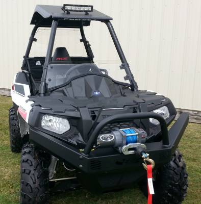 Extreme Metal Products, LLC - Sportsman ACE Front Bumper / Brush Guard
