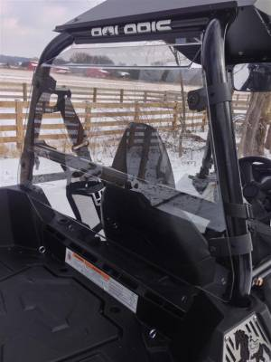 Extreme Metal Products, LLC - Polaris Sportsman ACE Cab Back / Dust Stopper - Image 1