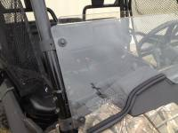 Extreme Metal Products, LLC - Pioneer 700 Half Windshield with Fast Straps - Image 2