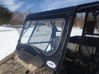 Extreme Metal Products, LLC - Pioneer 700 Laminated Glass Windshield with Wiper