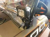 Polaris - RZR® XP1000 (XP1K) - Extreme Metal Products, LLC - RZR Cube LED Light Bracket set