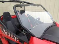 "Extreme Metal Products, LLC - Wildcat Trail (50"" Wide) and Wildcat Sport Hard Coated Polycarbonate Full Windshield - Image 3"