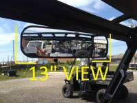 "Polaris - RANGER®  - Mid Size - Extreme Metal Products, LLC - 2015-2016 Ranger 13"" Panoramic Mirror/Ranger XP900  (with Pro-Fit Cage)"