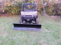 "Polaris - RANGER® XP1000 - Extreme Metal Products, LLC - Ranger XP900, Full Size 570, and Ranger XP1000  72"" Snow Plow"